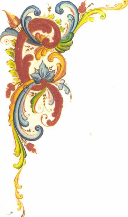 Rosemaling patterns tattoo pinterest