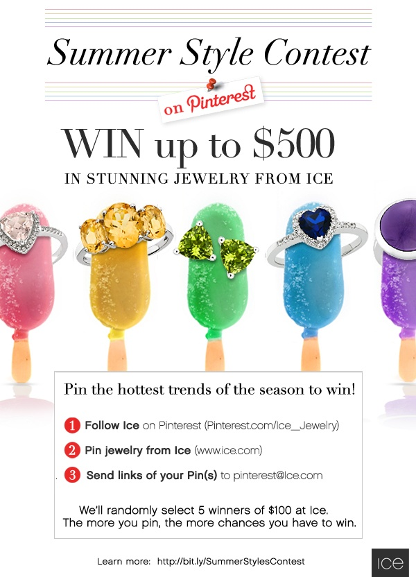 Enter to win up to $ 500 in jewelry! #Contest #Sweepstakes