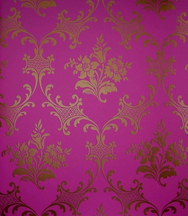Gold pink wallpaper | ...