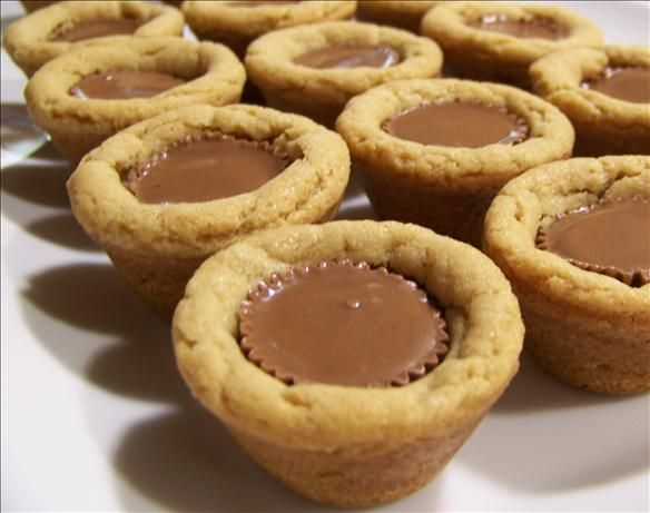 Butter Cup Cookie Tarts --- A homemade peanut butter cookie crust ...