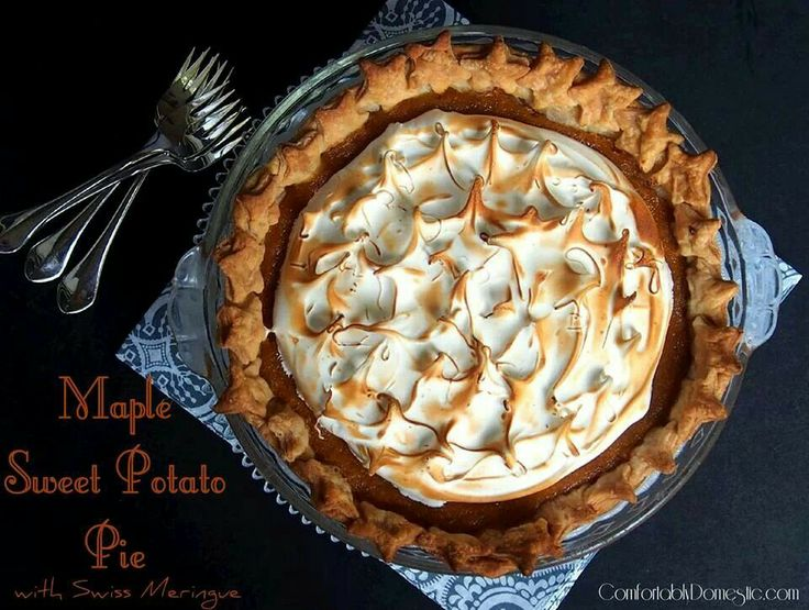 http://comfortablydomestic.com/2013/11/20/maple-sweet-potato-pie/