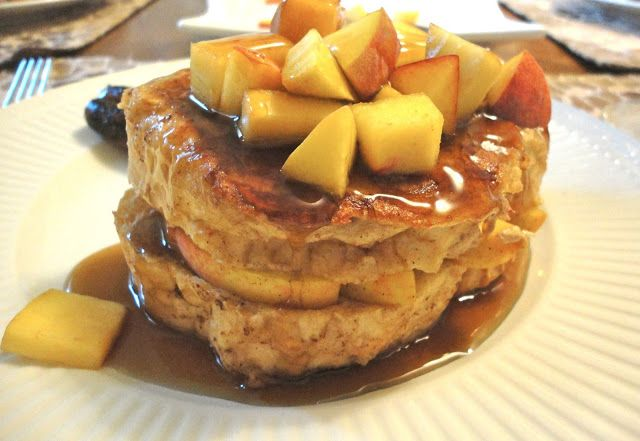peaches and cream french toast elegant and easy peasy