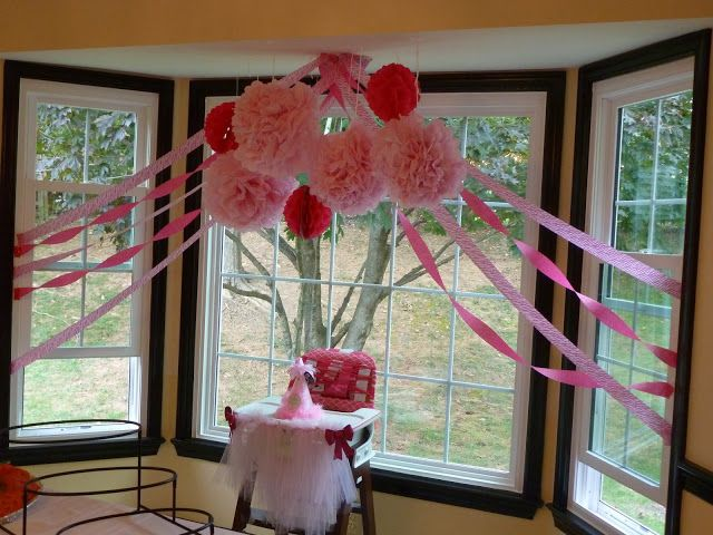 Pin by simple fancy fun on i 39 m ready to parrrtayyy for Baby girl first birthday decoration ideas