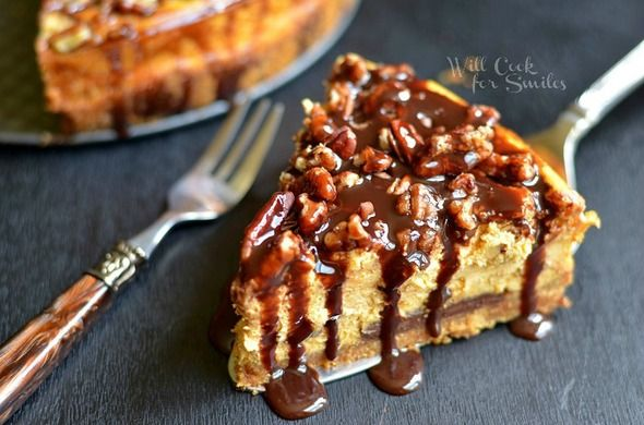 Chocolate pumpkin cheesecake | Food for the soul | Pinterest