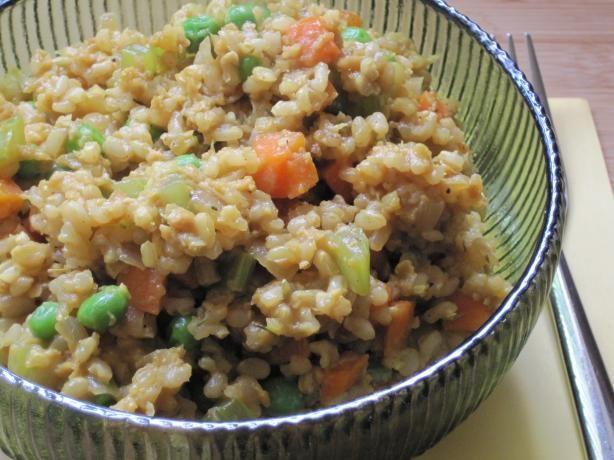 Veggie Fried Rice (Vegan) #Fried #Veggies #FriedVeggies