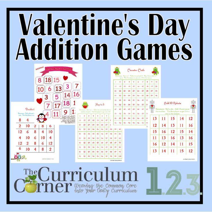 valentine day math activities for high school students