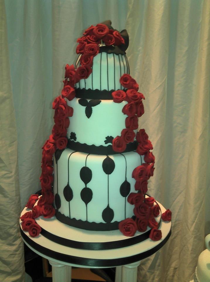 Bird cage vintage wedding cake | Weddings Cakes | Pinterest