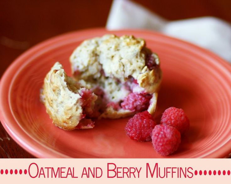 Oatmeal and Berry Muffins | Breads, Muffins, Rolls--the staff of life ...