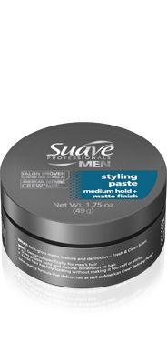 For a strong and healthy look grab #Suave Men #Styling Paste #hair #hold #professional #beauty
