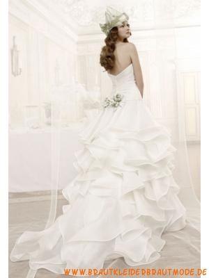 Wunderschöne Hochzeitskleider aus Organza für Prinzessin m...