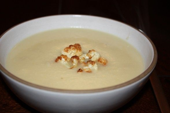 cauliflower and roasted garlic soup recipe | Pamela Salzman & Recipes ...