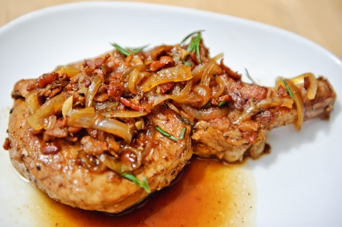 Balsamic Quick-Braised Pork Chops Recipes — Dishmaps