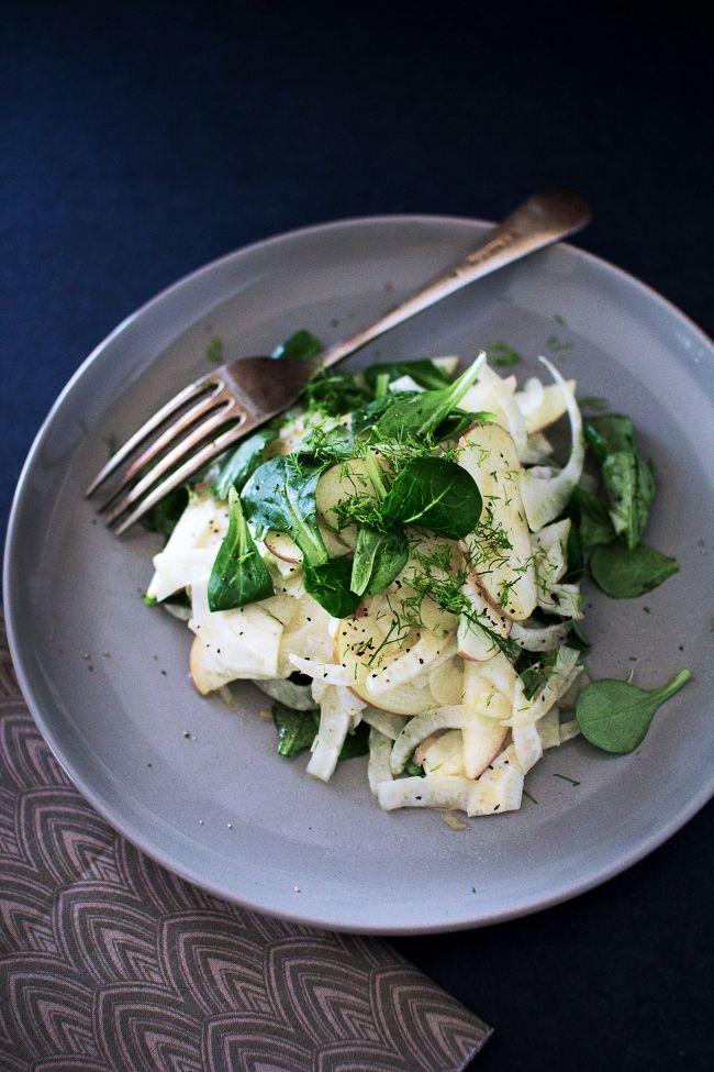 Pear, Apple And Fennel Salad Recipe — Dishmaps