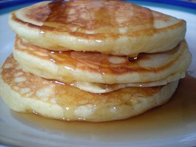 Eggnog pancakes, because the holidays may be over but the flavors can ...