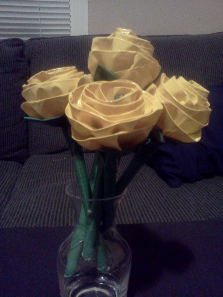 ball point pen roses. $4 each ($3 each for 10 or more) Choose colors/patterns for stem, leaves, and petals