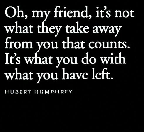 - Hubert Humphrey