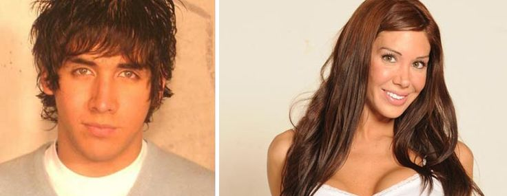 Julieta Biesa, Argentinina transgender actress, before and after her transformation
