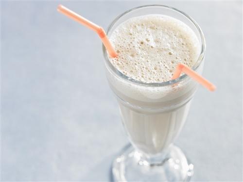 Make a vanilla, rum and salted cashew milkshake on National Vanilla Milkshake Day!