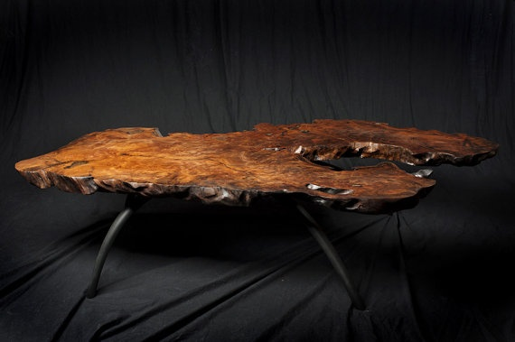 Redwood Burl Coffee Table Inside Pinterest
