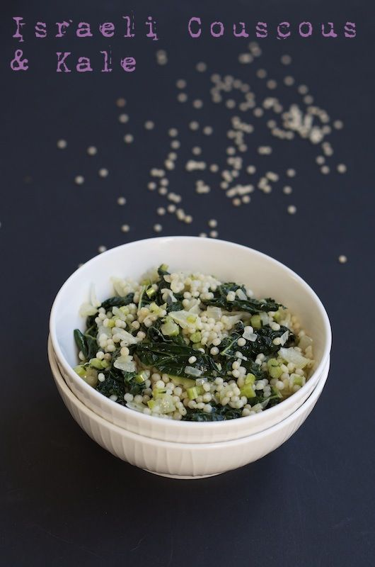 Kale And Couscous With Green Garlic Dressing Recipes — Dishmaps
