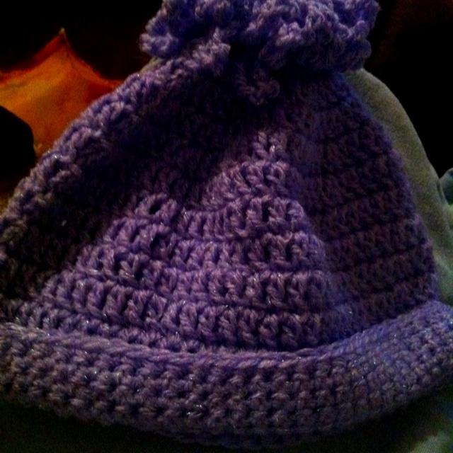 Ponytail Hat - Crochet Crocheting Pinterest