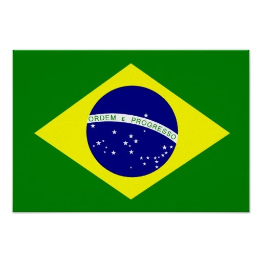 the flag for brazil