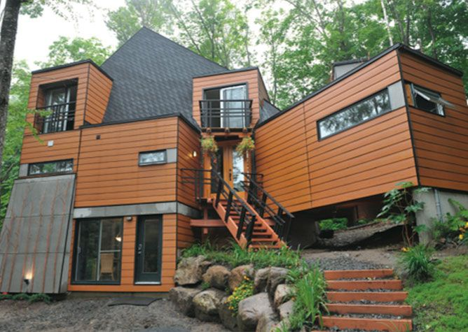 conex box house - Google Search | For my Lake House | Pinterest