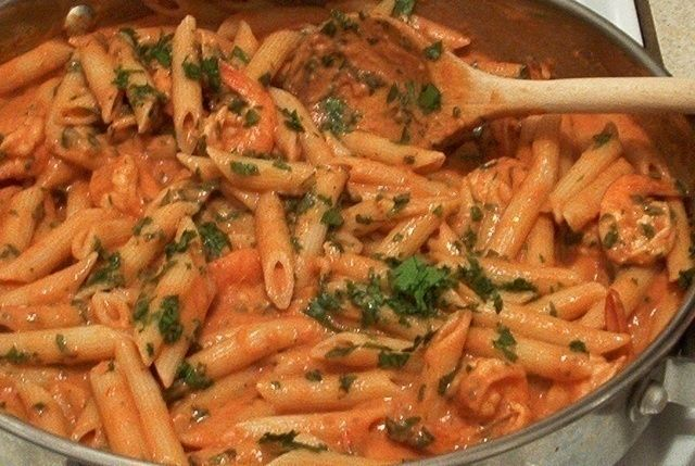 Penne with Pink Vodka Sauce   Yummies!   Pinterest