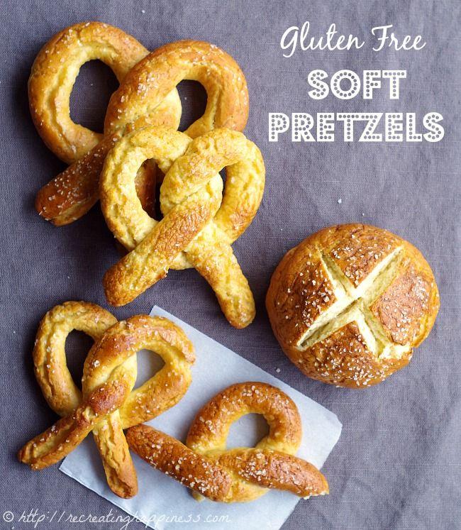 Gluten Free soft pretzels, pretzel bites, pretzel buns...dough is ...