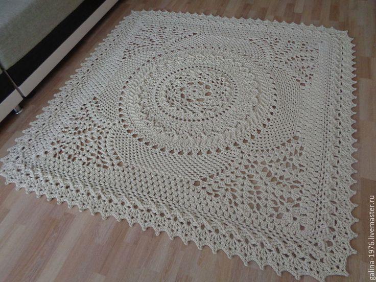 Вязание ковров из шнура крючком схемы фото 559
