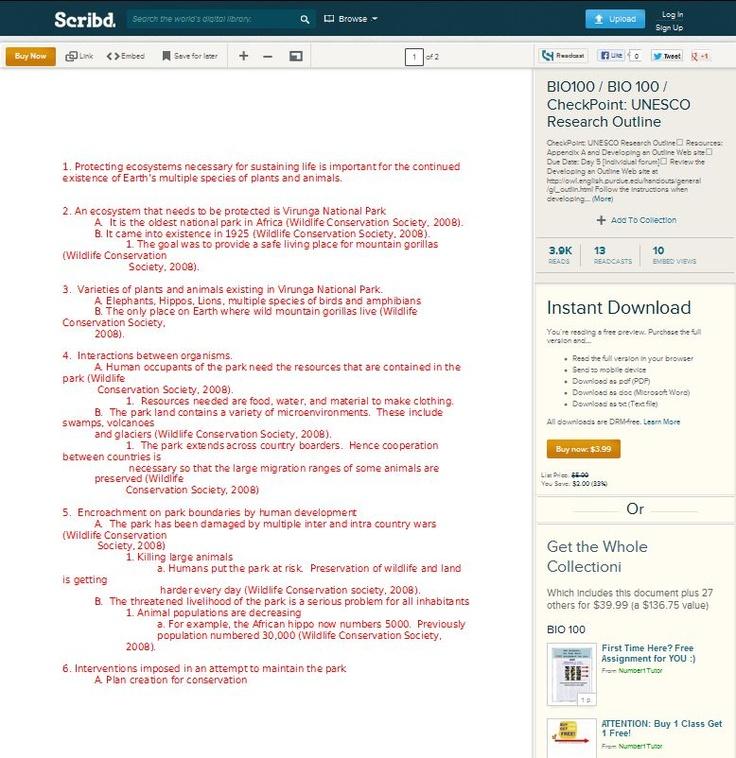 bio100 lab essay example