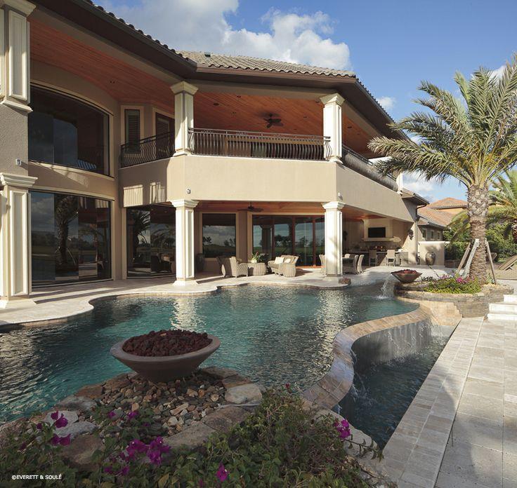 Pool Barb : ... homebuilding #customhomes #pool #patio #outdoorliving #florida