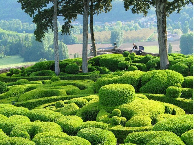 Gardens of marqueyssac in france shots pinterest for Le jardin de la france