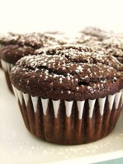 Bethenny's Molten Chocolate Cupcakes | Favorite Recipes | Pinterest