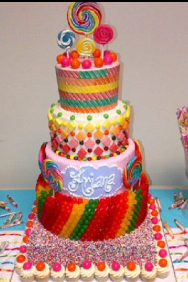 Candyland Themed Cake Ideas The Image Kid Has It