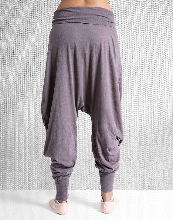 Harem Pants, Harem Trousers, Yoga Pants, Yoga Clothing via Etsy. I don ...