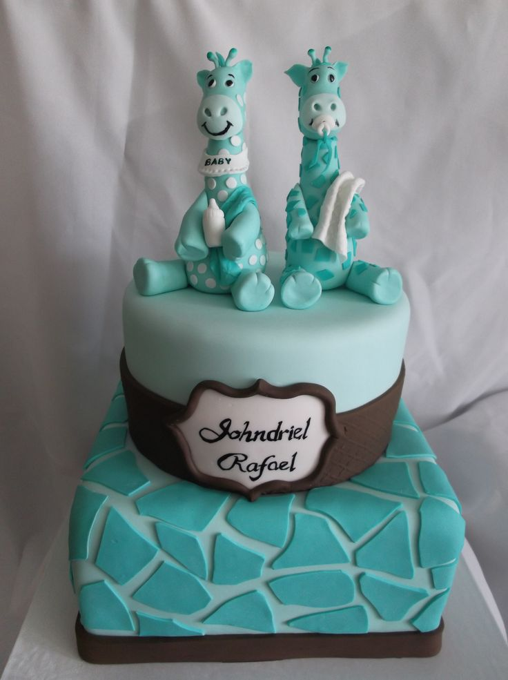 Cake Images For Twins : twins baby shower Cakes Pinterest