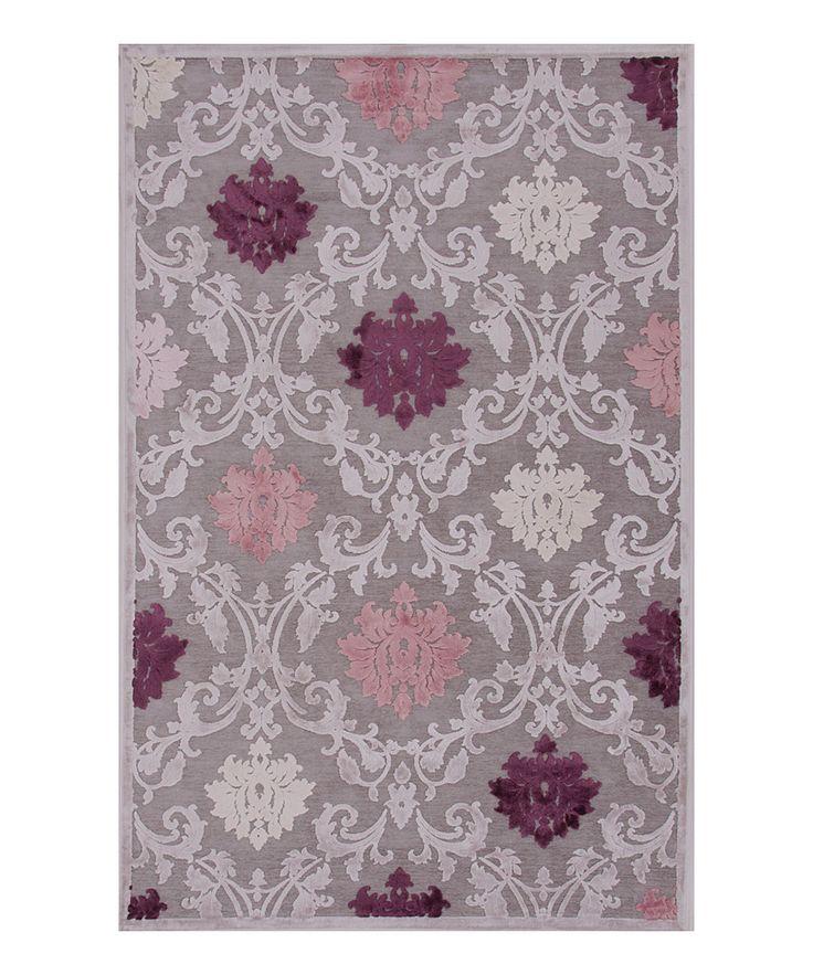 purple damask rug for - photo #3