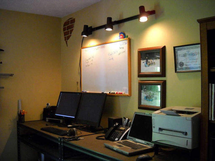 office track lighting office decor pinterest