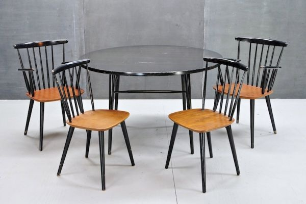 Mid Century Eames DWR Dining Table Good Design Pinterest