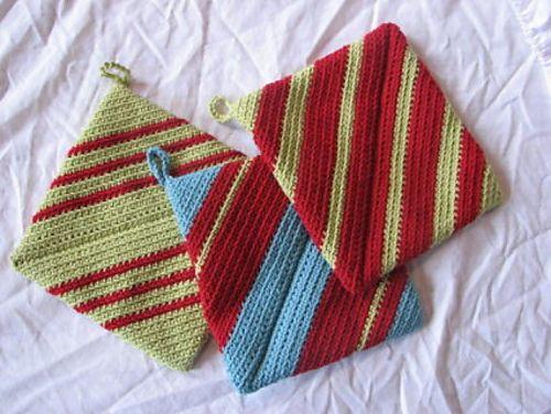 Crochet Pattern Central Potholders : Pin by Monica Hurst on Crochet Pinterest