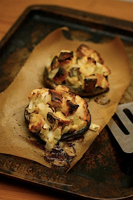 Portobello Mushrooms with Parmesan-Herb Stuffing | Big Girls Small ...