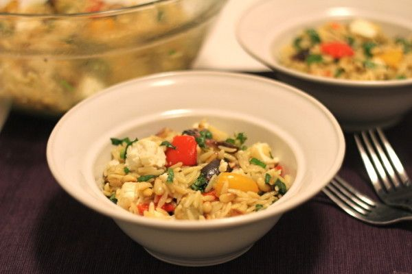 Orzo with Roasted Vegetables from @inagarten