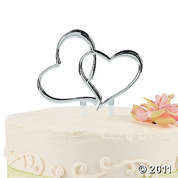 two hearts wedding cake topper wedding decor pinterest