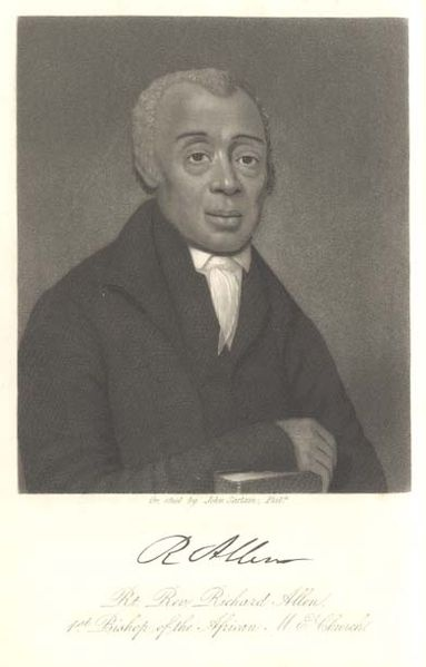 ON April 11, 1816 Richard Allen was named the first Bishop of the AME Church. Several African Methodist Churches met around the country and that year they formed the African Methodist Episcopal (AME) church. He opened his first church in 1794 in Philadelphia, Pennsylvania. He was elected the first bishop of the AME Church. The AME church is the oldest denomination among independent African-American churches.
