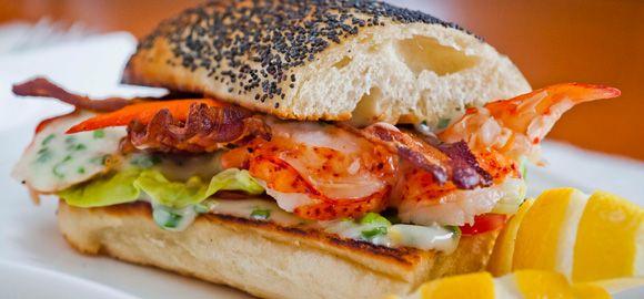 Lobster Club Sandwich | A sandwich that's a little bit special - one ...