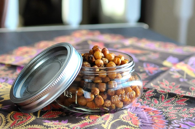 Fajita Spiced Roasted Chickpeas | Savory ~~Appetizers, Snacks & Dips ...