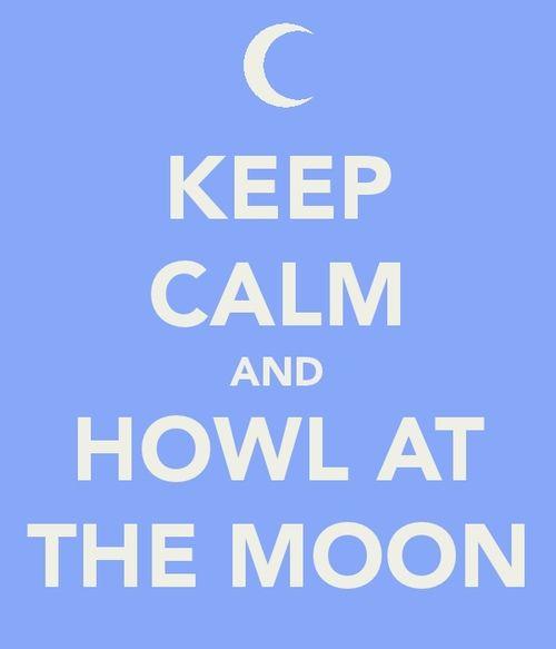 howl at the moon keep calm pinterest. Black Bedroom Furniture Sets. Home Design Ideas