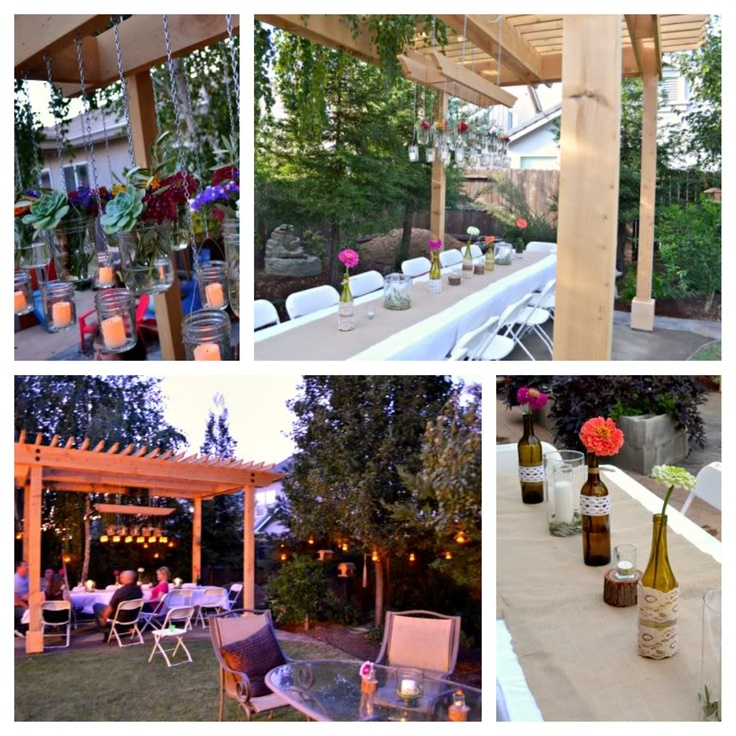 Outdoor 30th Birthday Party Birthday Ideas Pinterest