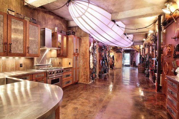 Very Unique Steampunk Kitchen Design Steampunk Goes Mainstream P